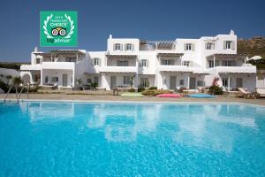 Yakinthos Residence, Apartmánové hotely  Panormos Mykonos - big - 1