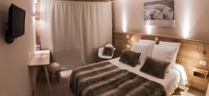 Hotel Les Flocons, Hotely  Les Deux Alpes - big - 56