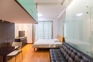 Shanghai Hongqiao Yueyi Apart Hotel, Apartmány  Šanghaj - big - 18