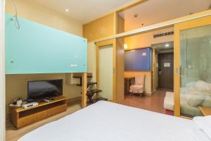 Shanghai Hongqiao Yueyi Apart Hotel, Apartmány  Šanghaj - big - 2