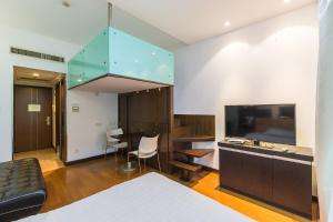 Shanghai Hongqiao Yueyi Apart Hotel, Apartmány  Šanghaj - big - 10