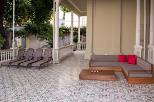 Beautiful 11 Bedroom Mansion near the Old City, Nyaralók  Cartagena de Indias - big - 11