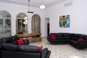 Beautiful 11 Bedroom Mansion near the Old City, Nyaralók  Cartagena de Indias - big - 17