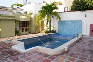 Beautiful 11 Bedroom Mansion near the Old City, Dovolenkové domy  Cartagena - big - 29