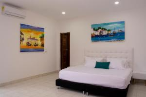 Beautiful 11 Bedroom Mansion near the Old City, Dovolenkové domy  Cartagena - big - 32