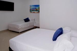 Beautiful 11 Bedroom Mansion near the Old City, Nyaralók  Cartagena de Indias - big - 44