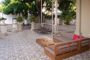 Beautiful 11 Bedroom Mansion near the Old City, Dovolenkové domy  Cartagena - big - 46