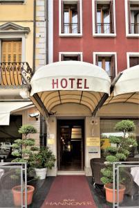 Hotel Hannover, Отели  Градо - big - 48