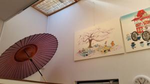 guesthouse KIWA, Penzióny  Kjóto - big - 32