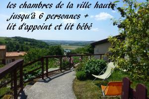 les chambres de la ville haute - Accommodation - Dun-sur-Meuse