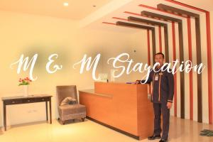 M & M Staycation, Apartmány  Manila - big - 24