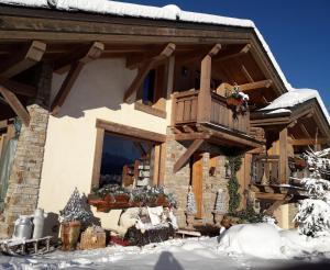Chambres d'Hôtes Eternel Mont-Blanc - Accommodation - Megève