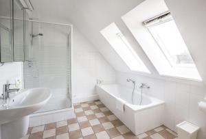 OG-Wohnung-Haus-Marina, Apartmány  Großenbrode - big - 12