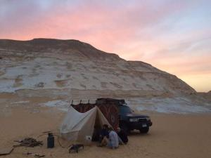 White desert, Campsites  Bawiti - big - 40