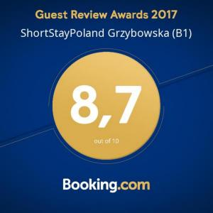 ShortStayPoland Grzybowska (B1)