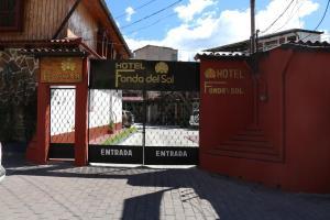 Hotel Fonda del Sol, Отели  Панахачель - big - 28