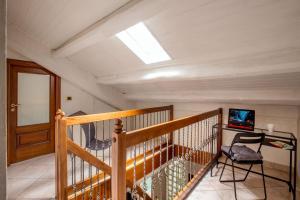Mario's apartament in the Spanish Steps
