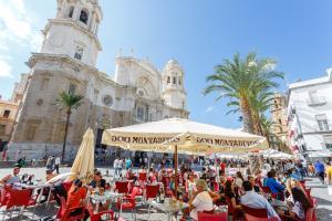 Apartamento CIGARRERAS de Cadiz, Ferienwohnungen  Cádiz - big - 35