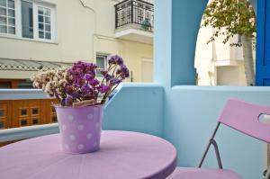 Galazia Studios, Aparthotely  Naxos - big - 27