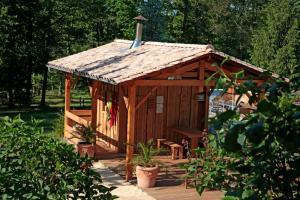 Camping Naturiste Terme d'Astor, Campeggi  Saint-Avit-Rivière - big - 14