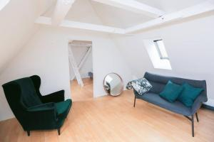 Luxurious two-storey apartment in the city centre