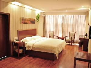 Hostels und Jugendherbergen - GreenTree Inn HeNan PuYang Oil-field Headquarters Business Hotel