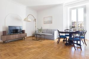 Three-Bedroom on Via Tevere Apt 5A - Nomentano