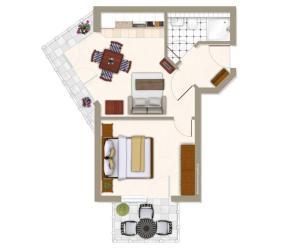 Villa Strandperle_ Whg_ 24, Apartmanok  Bansin - big - 6