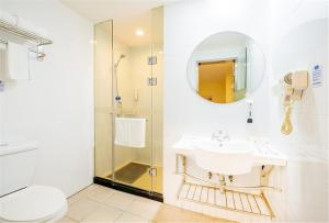 Hostels und Jugendherbergen - Hanting Hotel Wuxi Luoshe Tianqi City