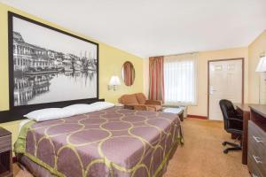 Super 8 by Wyndham Sumter, Мотели  Самтер - big - 6