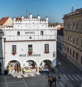 3 hviezdičkový hotel Hotel Bílý Koníček Třeboň Česko