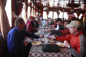 Panorama Lodge and Restaurant, Chaty v prírode  Nāmche Bāzār - big - 11