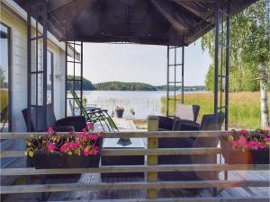 One-Bedroom Holiday Home in Sommen, Nyaralók  Sommen - big - 13