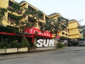 Sun Hotel - Ban Rai Map