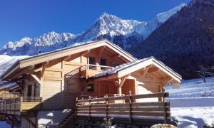Chalet 5 étoiles Le Gros Pierrier 12 personnes vallée de Chamonix - Hotel - Les Houches