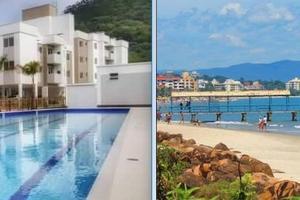 Apartamento na praia de Canasvieiras com wifi, piscinas e ar condicionado nos quartos., Apartmanok  Florianópolis - big - 1