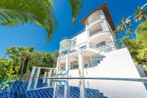 White Stone - Luxurious Villa with Sunset Views - Nathon