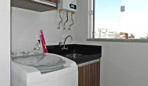 Apartamento 2 Suites Aguas Azuis, Apartmanok  Bombinhas - big - 12