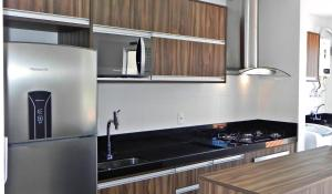 Apartamento 2 Suites Aguas Azuis, Apartmanok  Bombinhas - big - 13