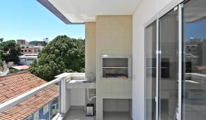 Apartamento 2 Suites Aguas Azuis, Apartmanok  Bombinhas - big - 20