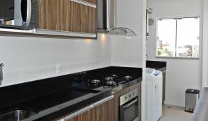 Apartamento 2 Suites Aguas Azuis, Apartmanok  Bombinhas - big - 25