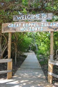 Great Keppel Island Holiday Village, Prázdninové areály - Great Keppel