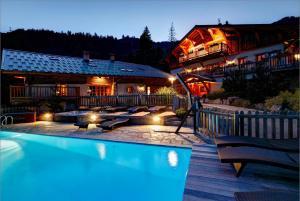 Location gîte, chambres d'hotes La Ferme du Chozal, The Originals Relais dans le département Savoie 73