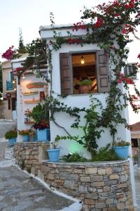 Stella's traditional house. Alonissos Greece