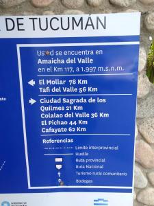 Apapachar, Nyaralók  Amaichá del Valle - big - 39