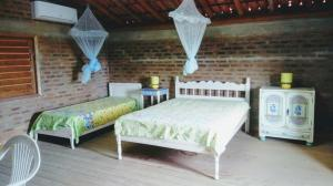 Casa em Praia Deserta, Dovolenkové domy  Costa Dourada - big - 40