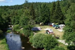 Location gîte, chambres d'hotes Camping Eco-responsable du Pont de Braye dans le département Lozère 48