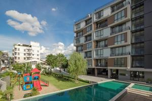 Mattani Suites, Апартаменты  Бангкок - big - 64
