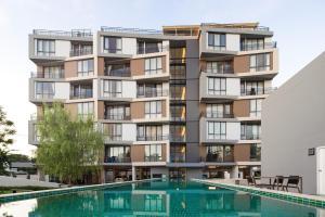 Mattani Suites, Апартаменты  Бангкок - big - 60