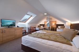 Hotel Honti, Отели  Вишеград - big - 31